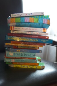 The stack of books Holly and I read on 9-15-2011